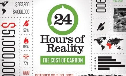 24 Hours of Climate Reality Event #ClimateReality #CostOfCarbon