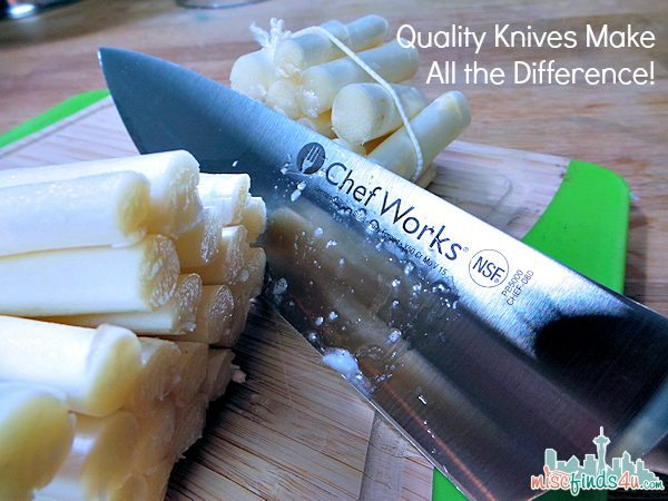 8in Chef Knife: Investment Quality Knives