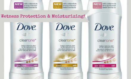 Dove Clear Tone – Protects and Moisturizes
