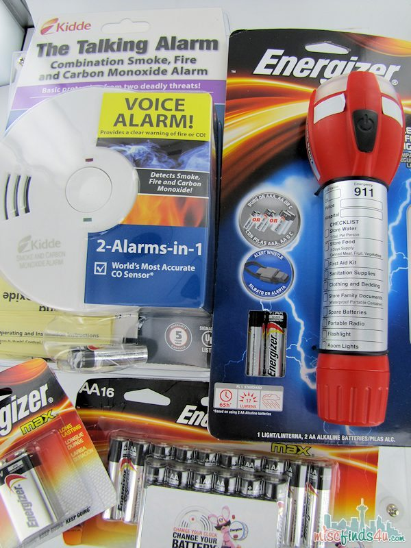 Energizer Family Fire Safety Kit - $60 Value - Win it! Ad