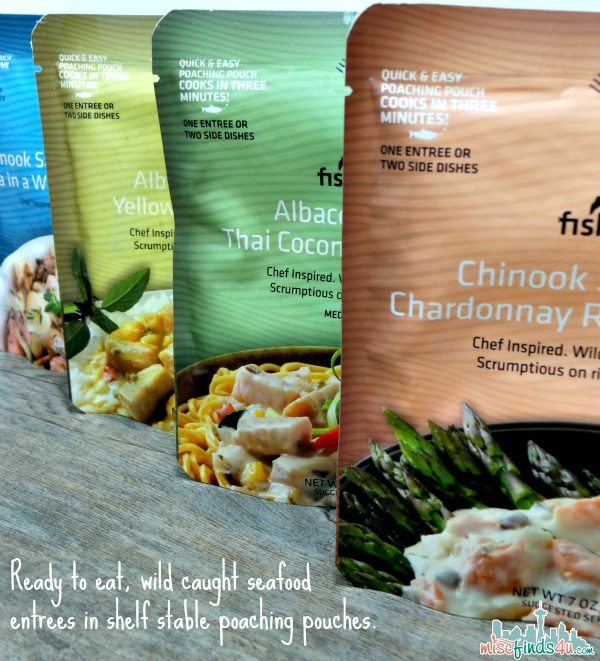 Fish People Gourmet Seafood Packets - ad
