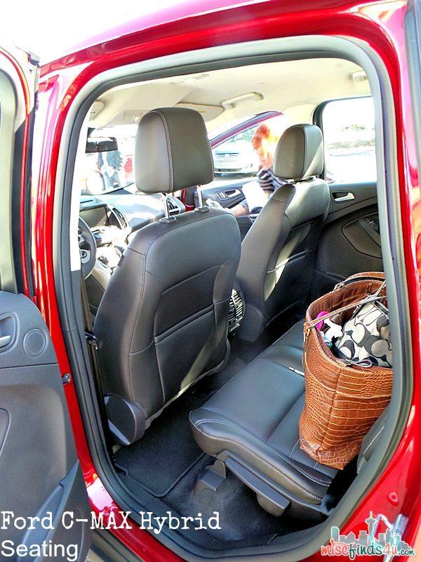 Ford C-MAX Hybrid Car - Backseat Seating - ad  #cmaxdrive
