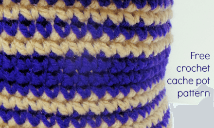 Crochet Storage Basket Pattern: Free and Easy