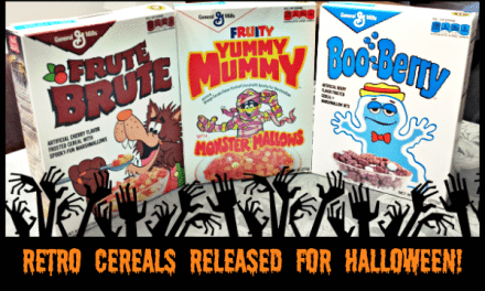 General Mills Monster Cereals