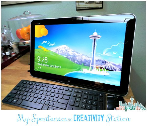 Intel AIO PC All-In-One Computers Spontaneous Creativity #IntelAIO AD
