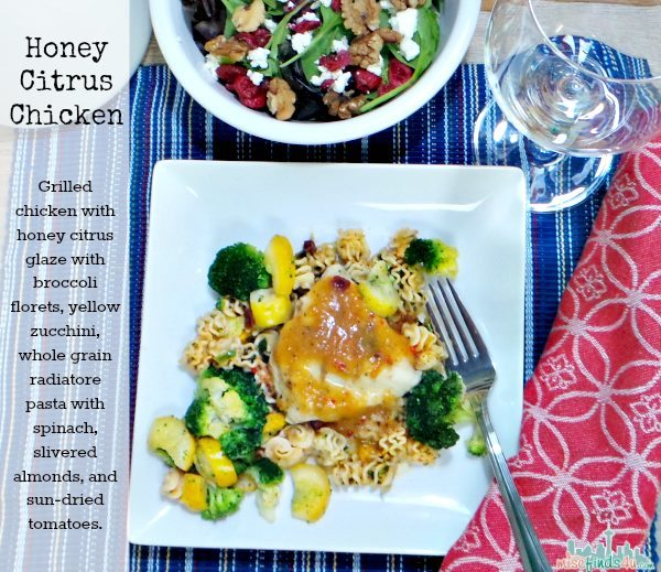 Lean Cuisine Honestly Good Honey Citrus Chicken hashtags #HonestlyGood #PMedia and #ad