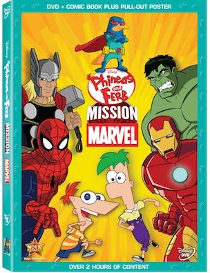 Disney DVD - Phineas and Ferb: Mission Marvel - ad