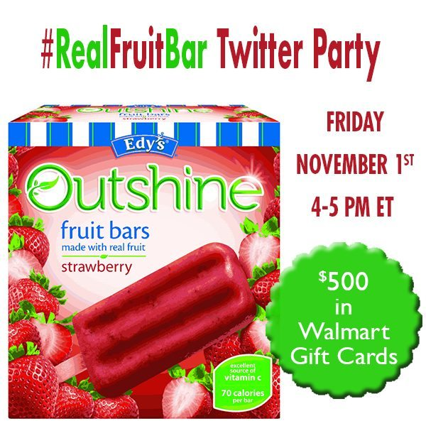 Snack Brighter Twitter Party #RealFruitBar 11/1 RSVP