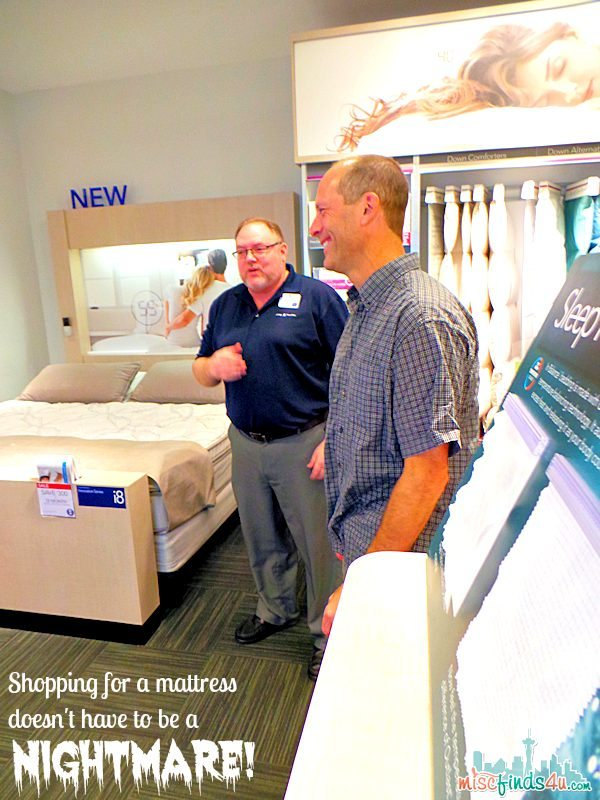 Shopping for a mattress do not have to be a nightmare - Sleep Number Ad