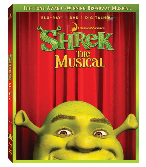 Shrek the Musical on DVD and Blu-Ray