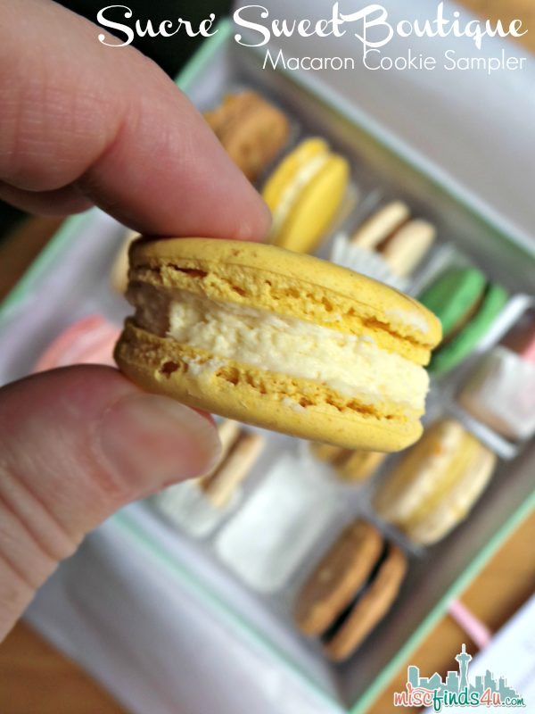 Sucre Sweet Boutique Macaron Cookie Sampler - Ad