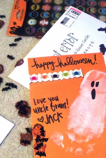 Easy Halloween Craft for Kids - Create a Halloween-Gram
