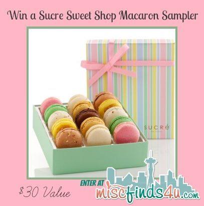 win a sucre macaron sampler