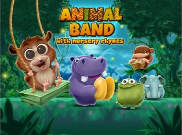 Toddler App Alert: Animal Band Nursery Rhymes - ad