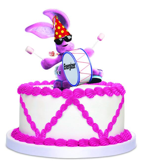 Energizer Bunny Birthday Cake