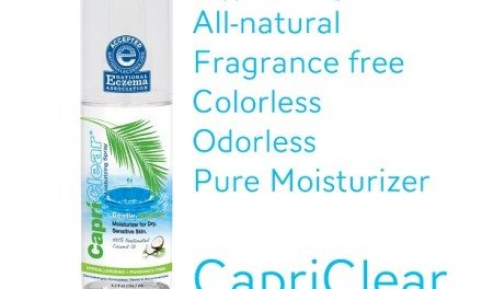 CapriClear: All-Natural Moisturizer for Sensitive Skin