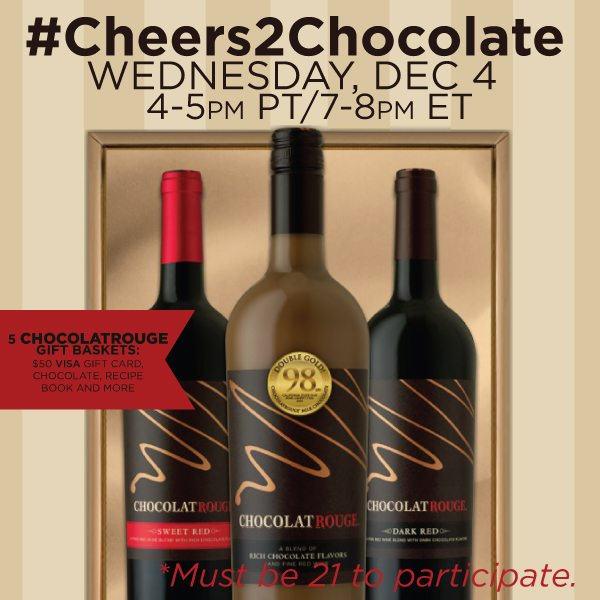 ChocolateRouge #Cheers2Chocolate Twitter Party RSVP