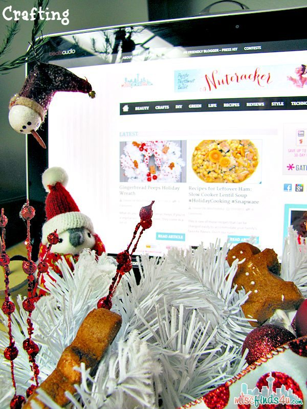 HP ENVY ROVE/Intel AIO PC: My Christmas Creation Station - Crafting