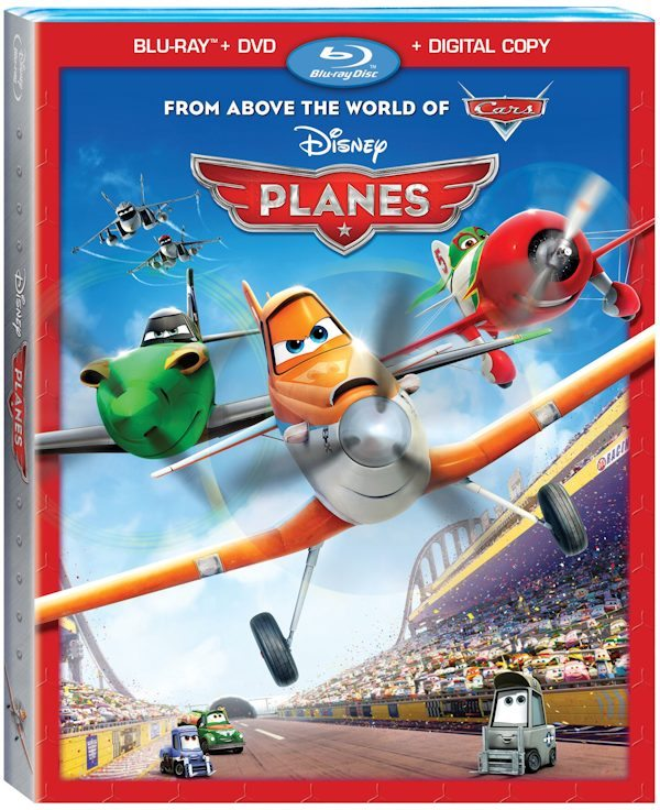 Disney PLANES on Blu-Ray and 3D 11-17-13