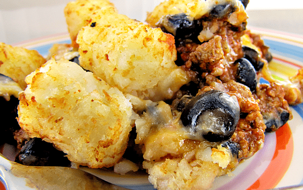 Tater Tot Casserole Recipe Mexican Style