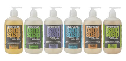 Everyone Hand Soap 3-in-1 available at Whole Foods and Online