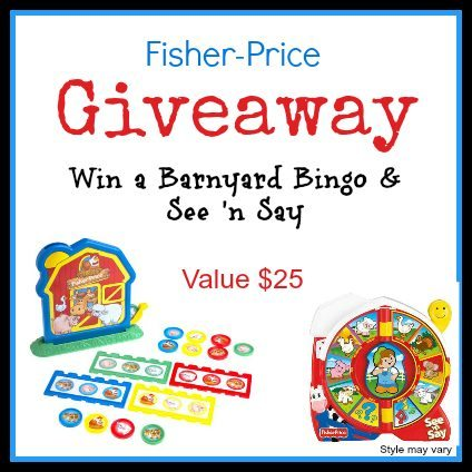 Fisher-Price Toys Giveaway