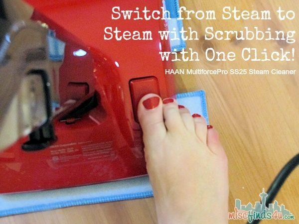 HAAN Multiforce Pro SS25 Steam Cleaner   - Steam or Scrub AD