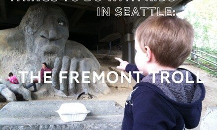 Things to do with kids in Seattle: Fremont Troll