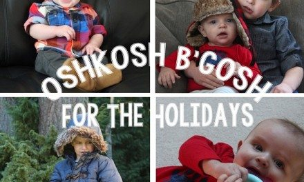 OshKosh B'gosh for the Holidays #MC