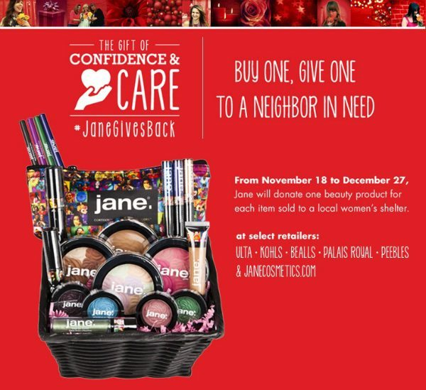 Jane Gives Back to Women Shelters