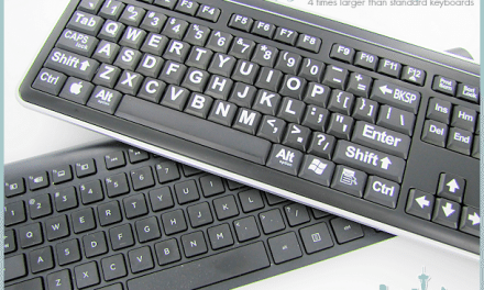 Large Font Keyboard: VisiKey Wired or Wireless