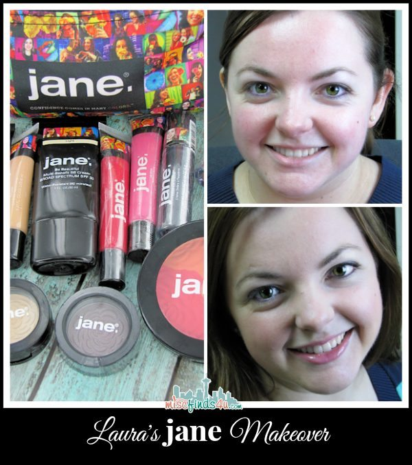 Laura has a Jane Cosmetic Makeover - win a $75 Jane Gift Certificate and do you own makeover!