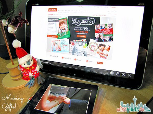 HP ENVY ROVE/Intel AIO PC: My Christmas Creation Station - Making Gifts
