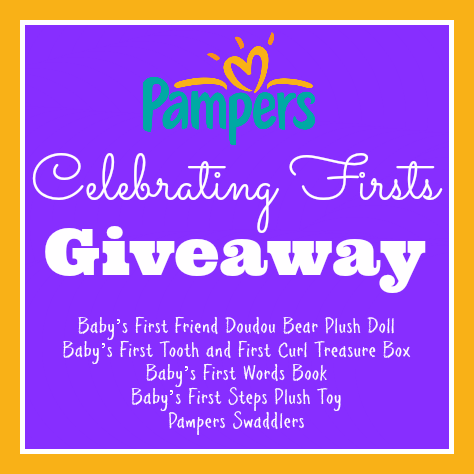 Pampers Celebrating Firsts Giveaway