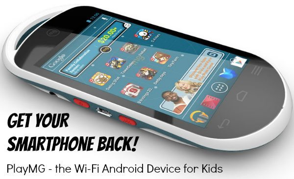PlayMG – the Wi-Fi Android Device for Kids