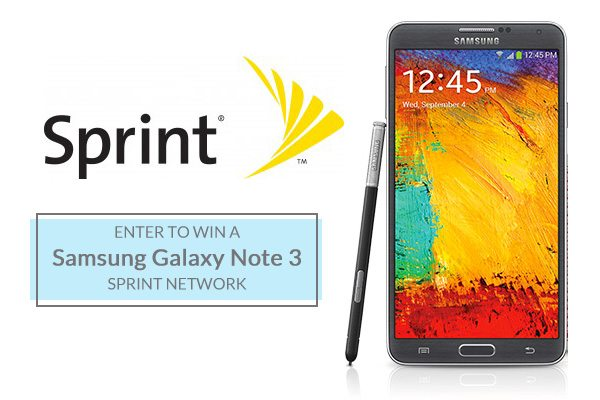 Samsung Galaxy Note 3 from Sprint