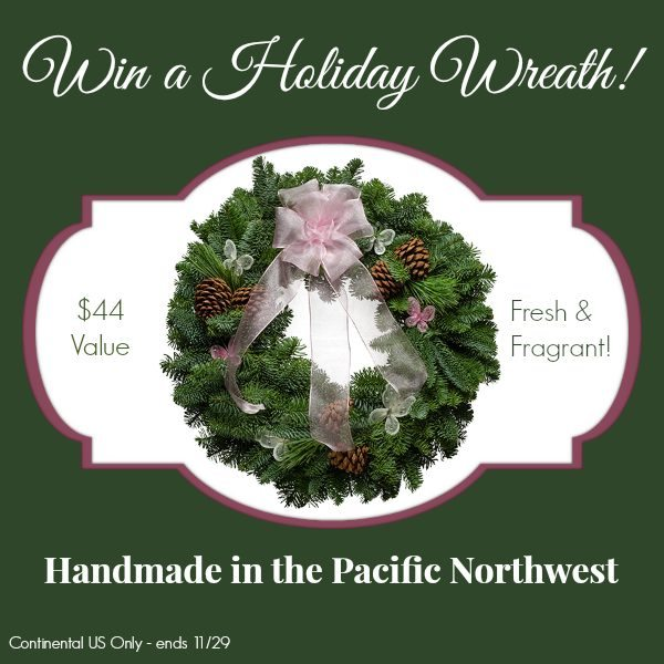 Win a Pink Lady from Christmas Forest - Handmade Fresh Wreaths Delivered to Your Door