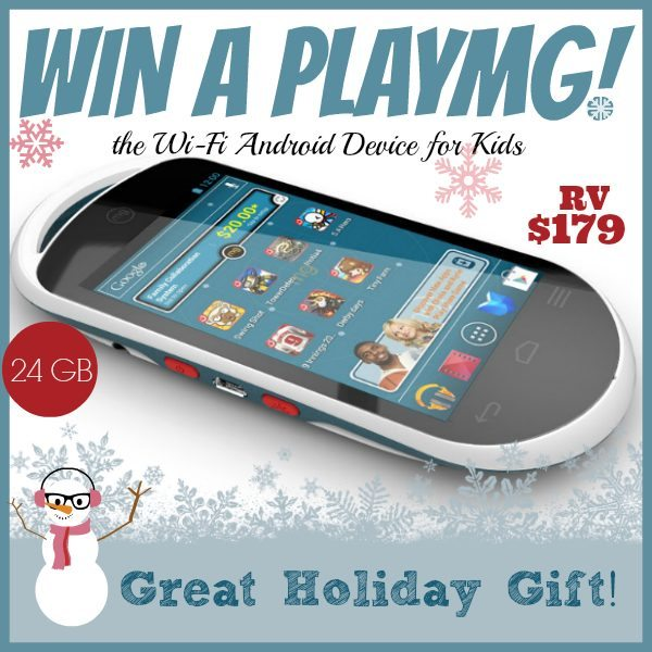 Win a PlayMG 24 MG Handheld Game Player