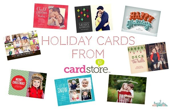 Holiday Cards from Cardstore #MC