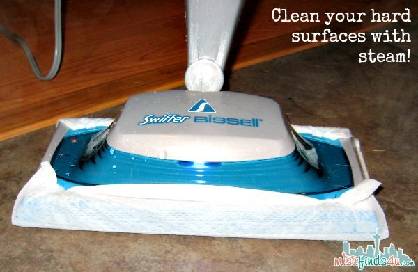 Bissell Swiffer Steam Cleaner  - @swiffer #steamboost #ad