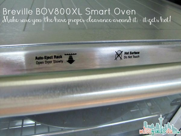 Breville BOV800XL Smart Oven  - the outside gets HOT - Gifts for Mom from Hammacher Schlemmer - ad