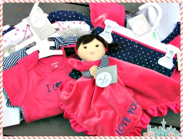 Carters Precious Pink Baby Clothes Collection - @carters #CartersFam #sponsored #MC