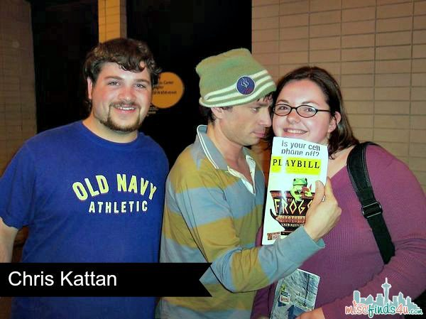 Chris Kattan - Frogs - Broadway 2004