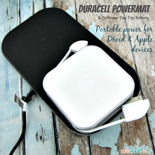 Duracell Powermat: Portable and Wireless Charging