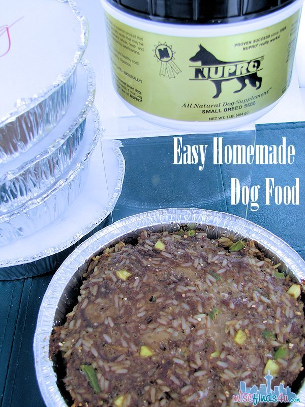Easy Homemade Dog Food