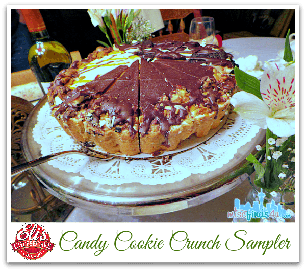 Elis Candy Cookie Crunch Sampler Cheesecake - Eli's Cheesecake Co - Home Delivered Gourmet Desserts  @elischeesecake ad