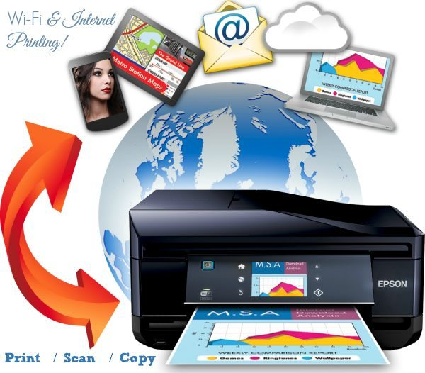 Epson Connect Wi-fi and Internet Printing