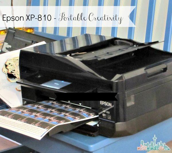 Epson Expression Premium XP-810 Small-in-One Printer  - ad
