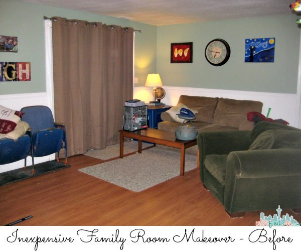 Family Room Ideas - Make quick & easy changes to any room in your home in minutes by changing the rug - add color & patterns