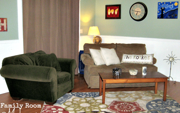 Family Room Ideas – Add Color and Texture